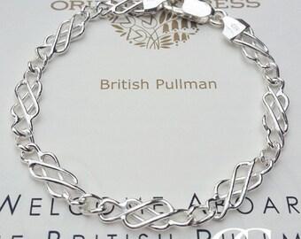 Sterling Silver Celtic Bracelet 7.5″