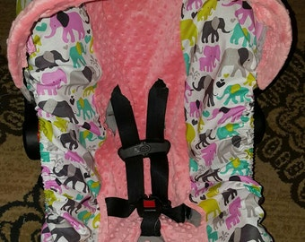 Elephant car seat cover