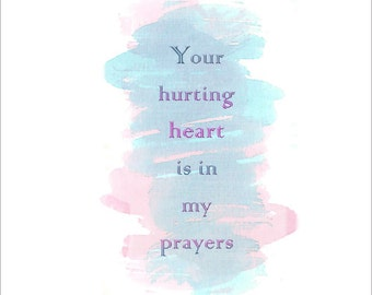 Your Hurting Heart