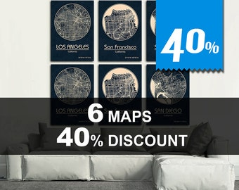 Special Offer! 6 MAPS - 40% DISCOUNT! Great deal!