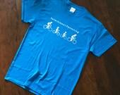 Funny tees, graphic tee, mens t-shirt, funny t-shirt, dad t-shirts, women's t-shirt, detachment parenting, bicycle shirt, cycling shirt