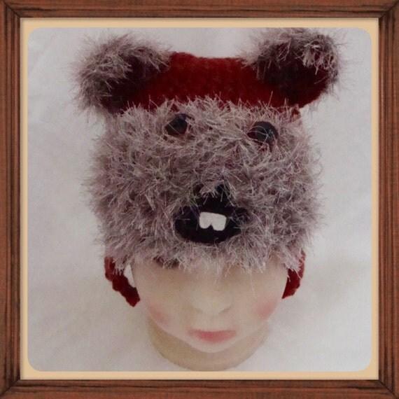 Ewok Hat: Items Similar To Ewok, Star Wars Handmade Crochet Hat