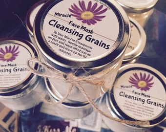 Miracle Cleansing Grains Face Mask