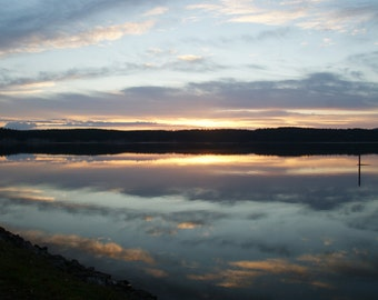 Morning Sunset of Sequim Bay