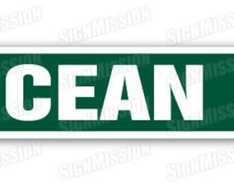 OCEAN DRIVE Street Sign Florida California Hawaii Texas vacation gift Atlantic