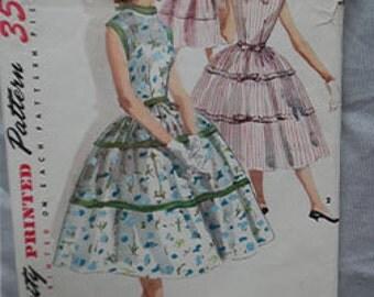 Vintage New Look Simplicity 1564 Misses' / Junior Misses' sz 14 (32/26/35) Dress pattern