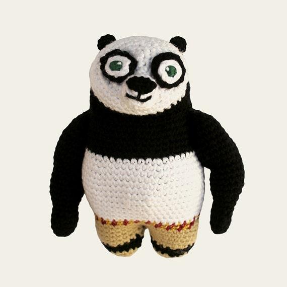Kung Fu Panda - Dreamworks Animation. Amigurumi Pattern PDF.