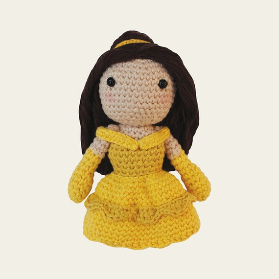 Belle - Disney Princess. Amigurumi Pattern PDF.
