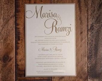 Wedding Invitations, Wedding Invitation, Invitations, Invitation, Gold Invitation, Gold Invitations, Gold Wedding Invitation, Wedding Invite