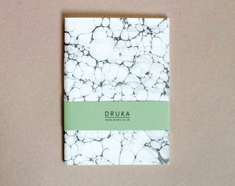 Marbled Notebook 007 - One of a Kind