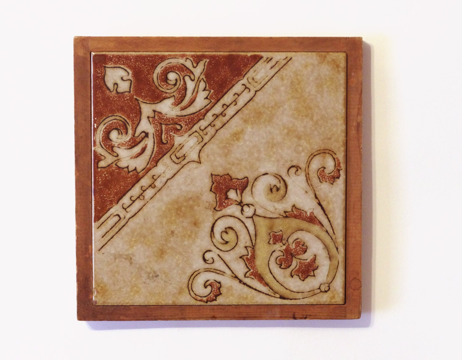 Ceramic Tile Trivet Large Kitchen Trivet Pot By