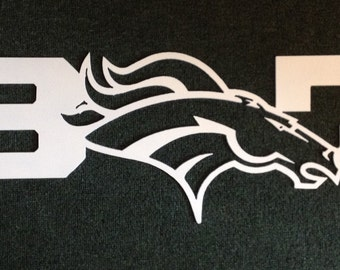 307 Denver Broncos Metal Art