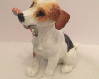 Vintage Royal Doulton Dog with Bone Figurine