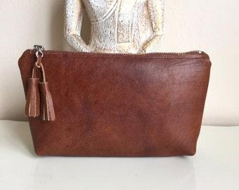 Sold-Genuine Leather Clutch Bag