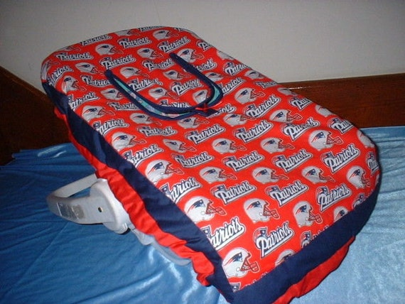 new england patriots infant car seat carrier cover also in. Black Bedroom Furniture Sets. Home Design Ideas
