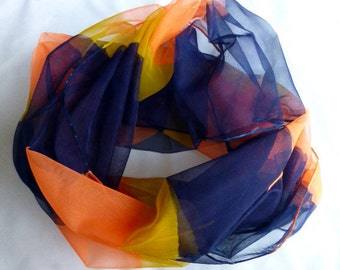 Brilliant masterpiece made of silk/chiffon