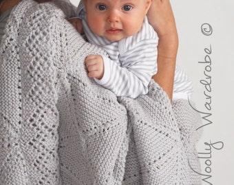 KNITTING PATTERN - Niki Baby Blanket