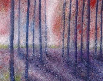 Crickley Hill # 2 - Giclee print