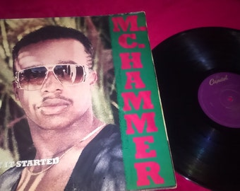 M.C. Hammer Vinyl LP's Pump It Up and Get it Started 2 Records for 1 price!