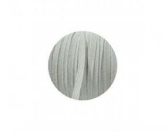 New 3mm white skinny elastic