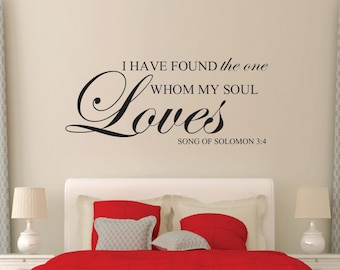 God Bless Our Home Decal Christian Wall Decal Bible Verse - Wall decals christian