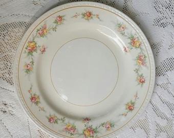 Homer Laughlin Salad Plate Eggshell Georgian Countess
