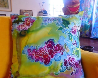 Silk and Satin cushions