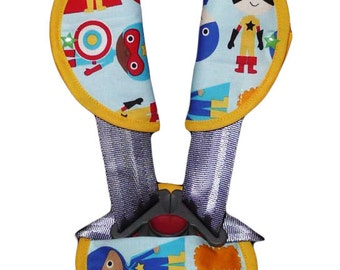 Kit protects-belt / protect-safety strap 'The little hero' (baby and child)