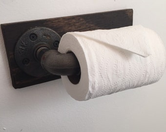 Rustic Toilet Paper Holder!