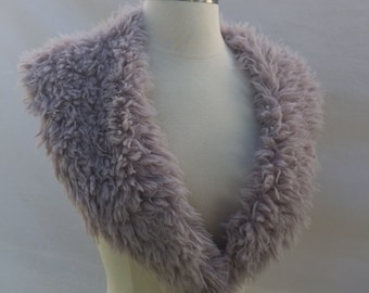 Lush Blush Faux Fur Collar