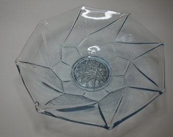 Sowerby art deco glass bowl