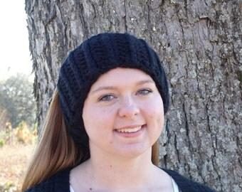 Hand Knitted Chunky Earwarmer