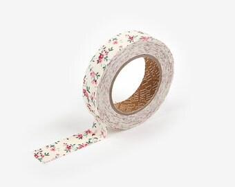 Fabric Masking Tape : First Love Flower - Dailylike Canada