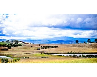 Yarra Valley Chocolaterie Panoramic View  - Canvas/Decal/Vinyl/Poster