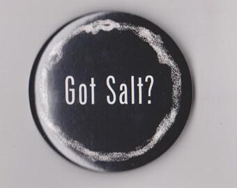 Supernatural Button, 'Got Salt'