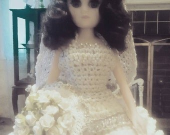Crocheted brides