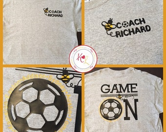 Customized Soccer Coach Shirt