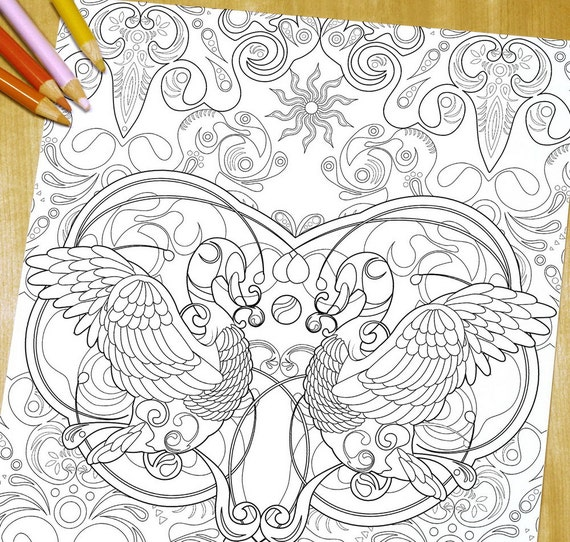 elegant printable adult coloring pages - photo#11