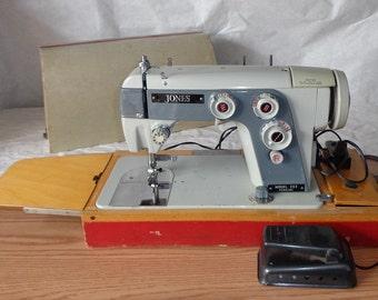 Jones sewing machine model 553 vintage