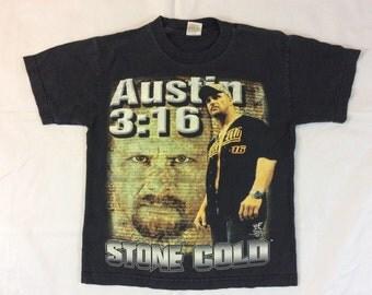 Vintage Stone Cold Steve Austin 3:16   sz YM