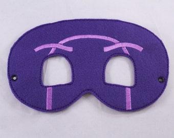 PJ Masks' Ninjalinos Inspired Embroidered Mask
