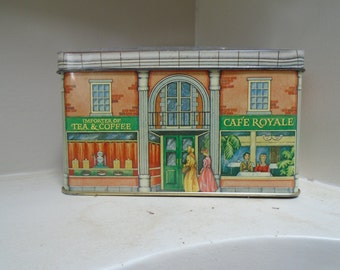 Collectible Tea Tin made in England for the Tin Box Company