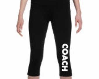 Team Be The Change - All Sport Ladies Capri Legging