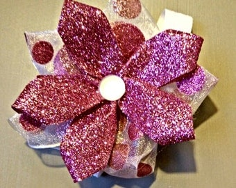 Sparkle Pink Bow!