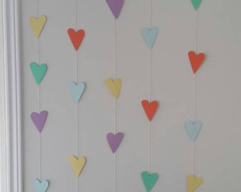 Mixed Hearts Garland