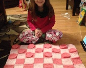 Crochet Giant Checkers