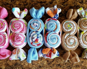 Wash Cloth Candy Pods