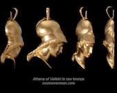 Athena of Velletri necklace pendant