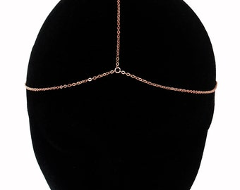 Rose Gold Chain Headpiece