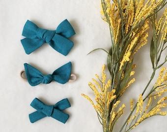 LAKE - Fall Linen Solids | Select Style